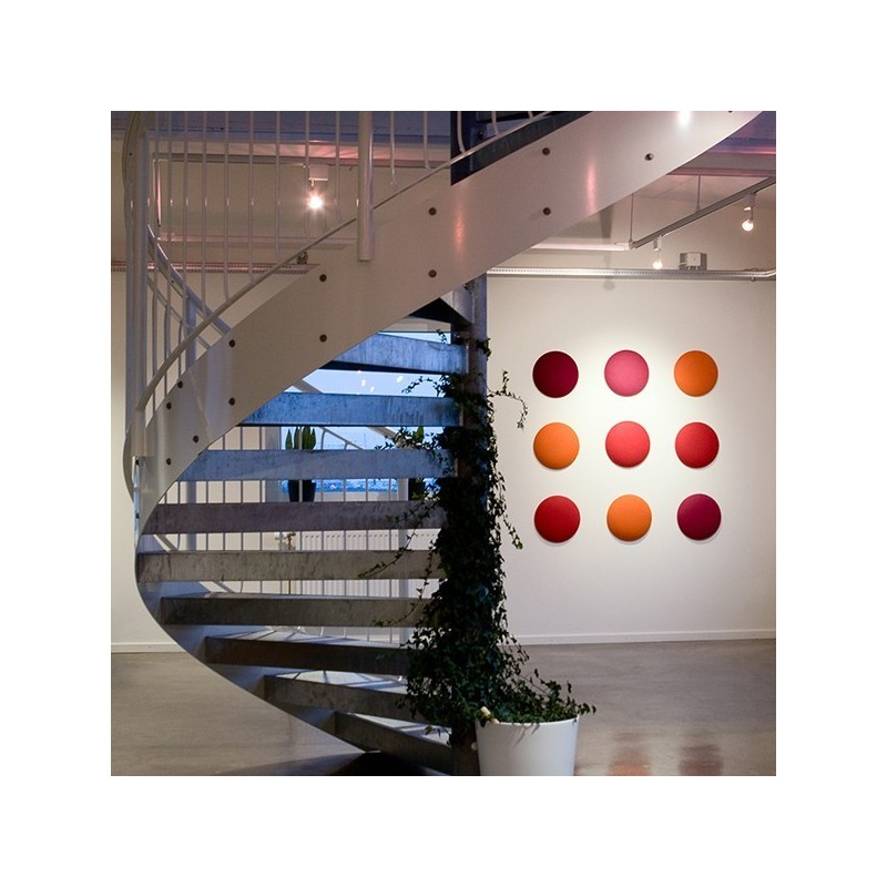 panneau acoustique mural wobedo moon 11. Black Bedroom Furniture Sets. Home Design Ideas