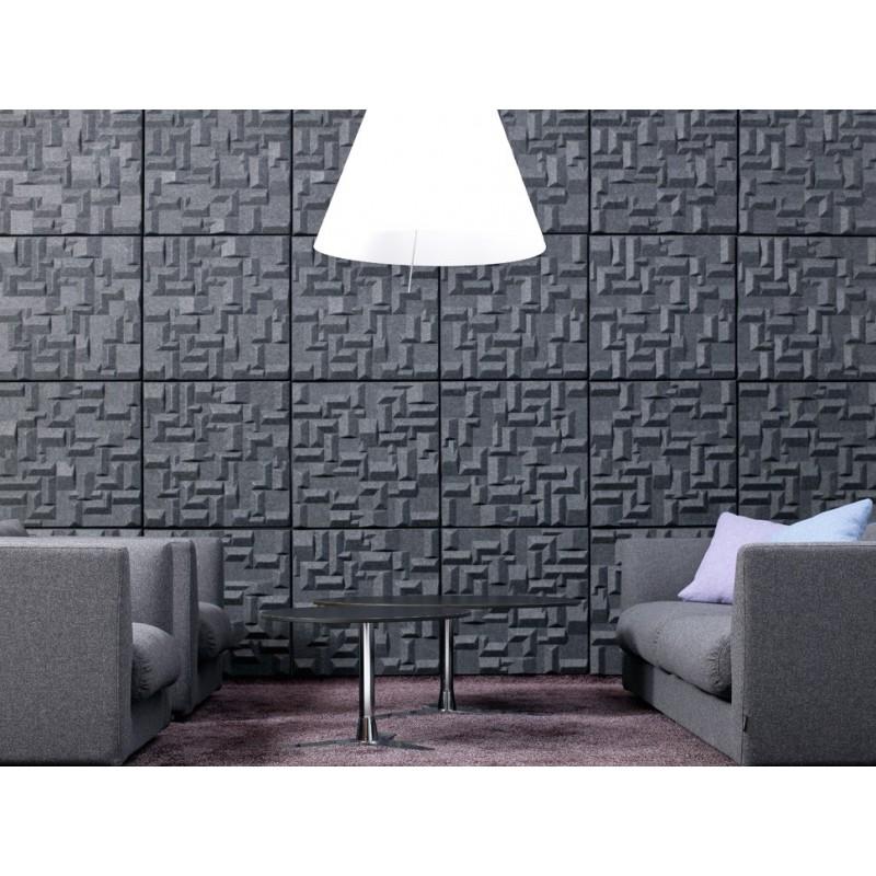 panneau acoustique d 39 isolation phonique des murs et d coration murale soundwave village. Black Bedroom Furniture Sets. Home Design Ideas